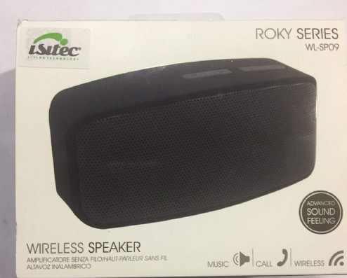 cassa speaker amplificatore audio isitec wireless senza filo