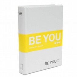 Diario agenda be you striscia gialla