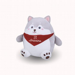 Peluches Husky Large Love Amore San Valentino