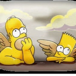 cuscino simpson angeli