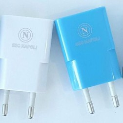 Carica bATTERIE SPINA USB  AZZURRO TRAVEL CHARGER 1A MODEL COMPACT BLUE