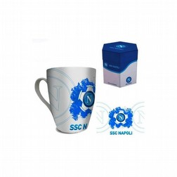 tazza latte ssc napoli conica