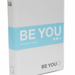 Diario agenda be you striscia blu