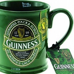 Tazza green Guinness