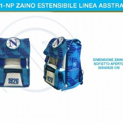 ZAINO ESTENSIBILE ABSTRACT SSC NAPOLI