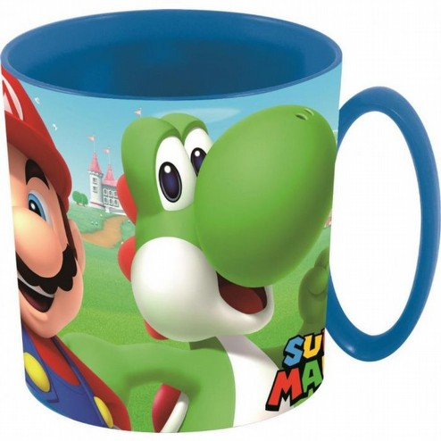 Super MarioBross tazza in pvc