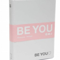 Diario agenda be you striscia rosa