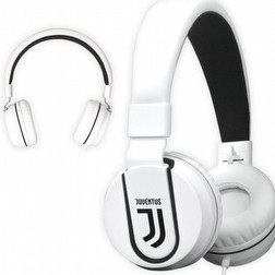 Cuffie Juventus Bianco Nero JUVE audio Dolby Techmade PRODOTTO UFFICIALE