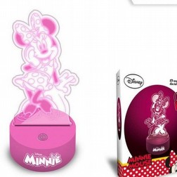Disney Minnie Lampada LED 3D
