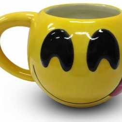 tazza in ceramica emoji faccina lingua emotion